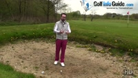 Five Common Golf Bunker Mistakes - Not Swing Hard Enough Video - by Peter Finch