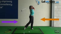 Fix Reverse Pivot  Problem With This Practice Drill - Golf Tip for Women Video - by Natalie Adams