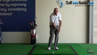For Best Ball Striking you Need Level Eye Swing - Senior Golf Tip Video - by Dean Butler