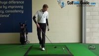 Fred Funk pro golfer with the fairway splitting drive Video - by Pete Styles
