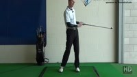 Slice Golf Shot Drill 9, Front Hand Glove Badge Away and Upside Down Video - Lesson by PGA Pro Pete Styles