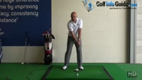Get Longer Drives Club Head Should be Going Upward at Impact - Senior Golf Tip Video - by Dean Butler