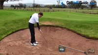How Much Sand Should I Take For The Perfect Golf Bunker Shot Video - by Pete Styles