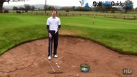 Golf Bunker Practice Drill, Never Hit Another Bunker Shot Fat With The Rake Drill Video - by Pete Styles