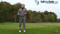 Golf Chipping Impact Position Video - by Pete Styles