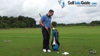 Golf Drill 2 - Hip On Bag Drill Video - by Peter Finch