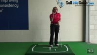 How Can I Get My Golf Pitch Shots To Check On The Green More? Video - by Natalie Adams