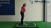 Golf Shoulder Alignment, How Can It Effect My Shots? Video - by Natalie Adams