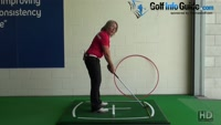 Golf Stance, How Can Standing Further From The Ball Change My Swing Plane? Video - by Natalie Adams