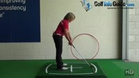 How Can Standing Nearer The Golf Ball Change My Swing Plane? Video - by Natalie Adams