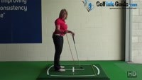 How Do You Aim Your Body Ready To Hit Straight Golf Shots? Video - by Natalie Adams