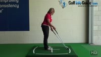 Ball Position For Irons, Should I Play All Of My Golf Iron Shots In The Center Of My Stance? Video - by Natalie Adams