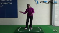 What Should My Right Palm Do In A Golf Bunker Shot? Video - by Natalie Adams