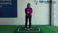 What Should My Spine Look Like At My Golf Address? Video - by Natalie Adams