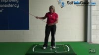 Golf Hip Turn, Where Should My Hips Be When I Hit The Ball? Video - by Natalie Adams