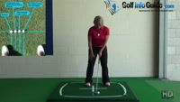 Golf Setup, Where Should My Right Foot Position Be? Video - by Natalie Adams