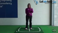 Why Do I Fall Off Balance After My Golf Shots? Video - by Natalie Adams