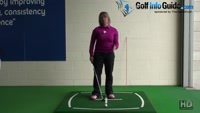 Why Do I Hit Behind The Golf Ball On My Wedges? Video - by Natalie Adams