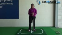 Lifting Your Head When Playing Golf Shots Video - by Natalie Adams