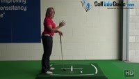 Pre Shot Routine In Golf, Why Do Players Stand Behind The Ball? Video - by Natalie Adams