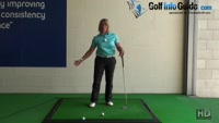 Golf Swing Follow Through, Should Bring Your Head Up Video - by Natalie Adams