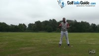 Golf Swing Golf Tips - All Time Top Tips - Holding The Right Knee Steady Video - by Peter Finch