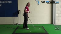 Ladies Golf Swing Tip: Keep a Consistent Forward Bend through Impact Video - by Natalie Adams