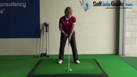 Golf Tip: How and Why You Should Stay Behind The Golf Ball during the Swing and Impact - Women Video - by Natalie Adams