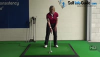Golf Tip: How to Hit the Three Quarter Golf Shot Video - by Natalie Adams