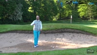 Greenside Bunker Golf Tips How The Bounce Works Video - by Peter Finch