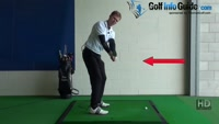 Swing Golf Plane Drill 2 Grip halfway down shaft point butt of club at ball Video - by Pete Styles