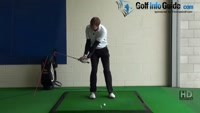 What is a Crisp Chip shot golf drill 3 Grip halfway down to stop flick, Golf Video - by Pete Styles