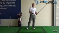 Highest Swing Speed Should Take Place Right Before  and After Impact - Senior Golf Tip Video - by Dean Butler