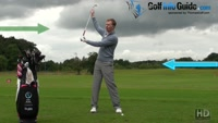 Hingeing The Wrist To Create Lag In The Golf Down Swing Video - by Pete Styles