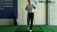Hit the Golf Ball Straighter Through The Gateway, Tour Alignment Stick Drill Video - by Pete Styles