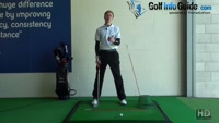 Hit the Golf Ball Straighter by not Spinning Out of the Shot, Tour Alignment Sticks Drill Video - by Pete Styles
