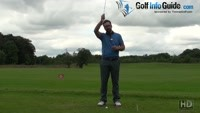 Hitting Down On The Golf Ball Bottoming Out Arc Video - by Peter Finch