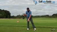 Hold Onto The Right Knee Position To Stop Golf Backswing Sway Video - by PGA Instructor Peter Finch