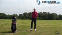 Hold The Rear Leg Steady In The Golf Backswing Video - by Pete Styles
