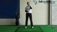 Hook Golf Shot Drill 3:  Hold off finish badge to sky Video - Lesson by PGA Pro Pete Styles