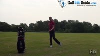 Holding Your Stance Steady During Your Golf Backswing Video - by Pete Styles