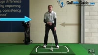 How And Why You Should Soften Your Left Arm At Address - Golf Tip Video - by Pete Styles