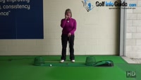 How Best to Keep the Putter Head Low to Roll Pure Putts Ladies Tip Video - by Natalie Adams