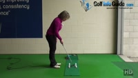 How Does the Gate Putting Drill Work Women Golf Tip Video - by Natalie Adams