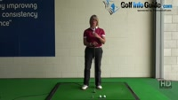 How Ladies can improve their Golf Shots with the Hinge Golf Drill Video - by Natalie Adams