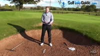 How Much Sand Should I Take When Playing A Golf Bunker Shot Video - by Pete Styles