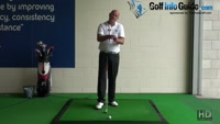 How Senior Golfers should play a Golf Punch Shot Correctly Video - by Dean Butler