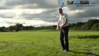 How Should I Hit A Golf Ball Above My Feet Video - by Pete Styles