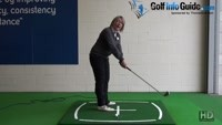 How Spine Angle Influences Swing Plane - Women's Golf Tip Video - by Natalie Adams