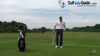 How To Deal With Golf Sidehill Lies Video - by Pete Styles